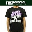 予約商品 6月頃入荷予定 リバーサル REVERSAL 正規販売店 メンズ 半袖Tシャツ MASTER OF KILLER DRY H/MESH TEE rv17ss011 BLACK