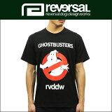 リバーサル REVERSAL 正規販売店 メンズ 半袖T シャツ GHOSTBUSTERS TEE rvgb001 BLACK