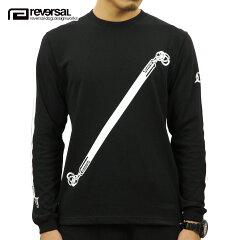 予約商品9月頃入荷予定リバーサルREVERSAL正規販売店メンズ長袖Tシャツ36CHAMBERSLONGSLEEVETEErv17aw012BLACK