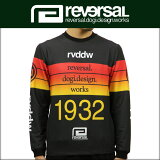 リバーサル REVERSAL 正規販売店 メンズ 長袖T シャツ CANNONBALL RACE JERSEY MESH LONG rv17aw018a ENERGY