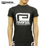 リバーサル REVERSAL 正規販売店 メンズ クルーネック 半袖ラッシュガード BASIC rvddw RASH GUARD rvbs018 BLACK