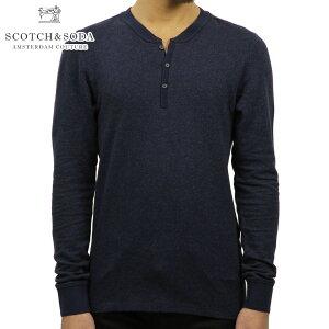 スコッチアンドソーダ ロンT メンズ 正規販売店 SCOTCH&SODA 長袖Tシャツ Home Alone Long Sleeve Grandad 132323 5I D00S20