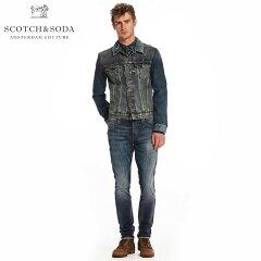 スコッチアンドソーダSCOTCH&SODA正規販売店メンズジャケットAMSBLAUWTRUCKERJACKET-ROCKYROAD1343721NROCKYR
