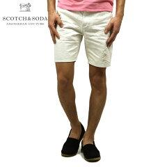 スコッチアンドソーダSCOTCH&SODA正規販売店メンズショートパンツGARMENTDYED5POCKETSHORT1362560102DENIMW
