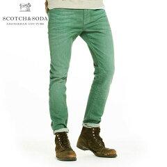 スコッチアンドソーダSCOTCH&SODA正規販売店メンズジーンズSKIMYARNDYEDCOLOURSDENIMPANTS1350590YMALTGR