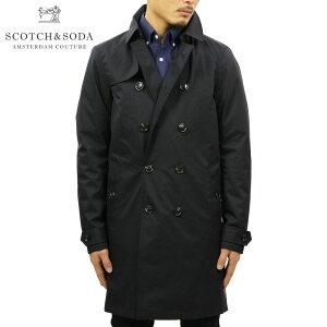 スコッチアンドソーダ SCOTCH&SODA 正規販売店 メンズ コート CLASSIC DOUBLE BREASTED TRENCH COAT 139242 0002 41121 NIGHT