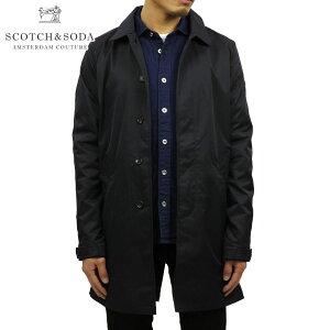 スコッチアンドソーダ アウター メンズ 正規販売店 SCOTCH&SODA ジャケット トレンチコート CLASSIC SPRING TRENCH COAT 148690 0002 NIGHT