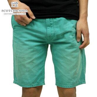 蘇格蘭威士忌和蘇打SCOTCH&SODA正規的店鋪人短褲Freeman Chino short-Canvas Garment Dyes 87093 63