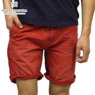 蘇格蘭威士忌和蘇打SCOTCH&SODA正規的店鋪人短褲Freeman Chino short-Canvas Garment Dyes 87093 30