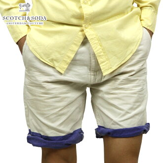 蘇格蘭威士忌和蘇打SCOTCH&SODA正規的店鋪人短褲Freeman Chino short-Canvas Garment Dyes 87093 13