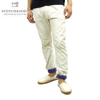 蘇格蘭威士忌和蘇打SCOTCH&SODA正規的店鋪人牛仔褲Freeman Chino-Canvas Garment Dyes 85081 13