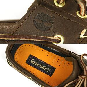 Timberlandティンバーランド正規品デッキシューズCLASSICBOATSHOE74035ブラウン