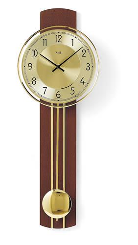 輸入時計【AMS(アームス社ドイツ製).クォーツ・壁掛け時計 AMS-7115】 ドイツ製 時計 掛け時計 置時計 クラシック 時計 モダン 時計 ヨーロッパ時計 ヘルムレ アンティーク時計 【鈴木家具】:輸入家具・雑貨といえば、鈴木家具