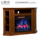 【クーポン配布中】電気式暖炉 ロイドグランデ【クレアモント 23インチ...