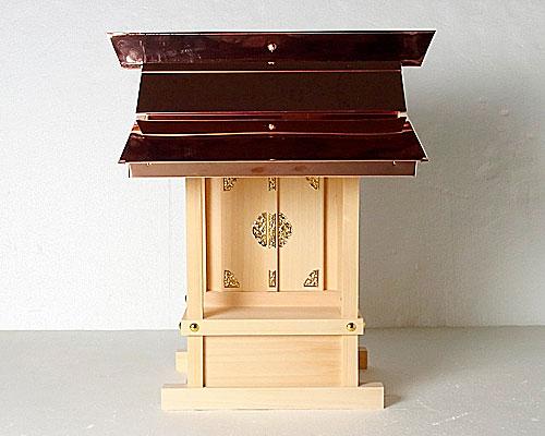 外祭用銅板葺神棚