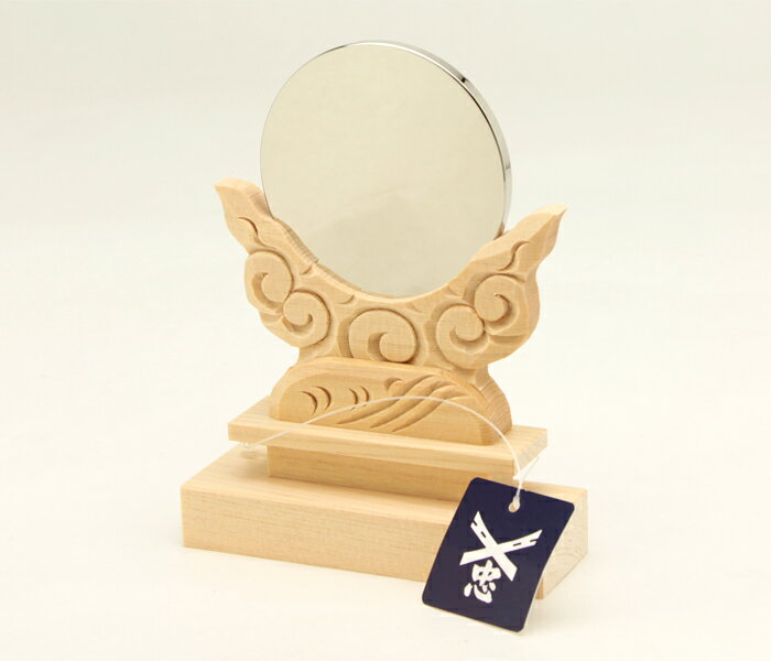2 cloud form stand 寸 made of mirror mirror + Kiso hinoki