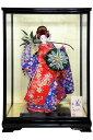 日本人形 開業祝 開店祝 贈答品 記念品 海外出張 海外からのお客様へ 送料無料 (s1422-c)★日本...