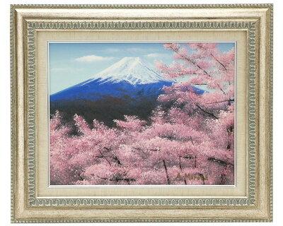 絵画 富士山 室田彰作
