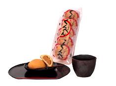 「沖縄県石垣島よりお届けします」石垣島の伝統菓子です。  くんぺん 袋 5個入り