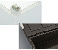 収納ボックス 収納ケース ベッド下収納ボックス 2個組 収納BOX シンプル 衣装ケース 衣替え 子供部屋 プラスチック ベッド下