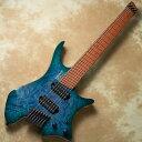 宮地楽器 ららぽーと立川立飛店で買える「strandberg/Boden J Series J7 Custom Burl Maple Top Bahama Blue【在庫あり】」の画像です。価格は571,320円になります。