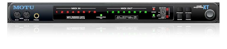 DAW・DTM・レコーダー, MIDIインターフェイス MOTUMIDI Express XT USB