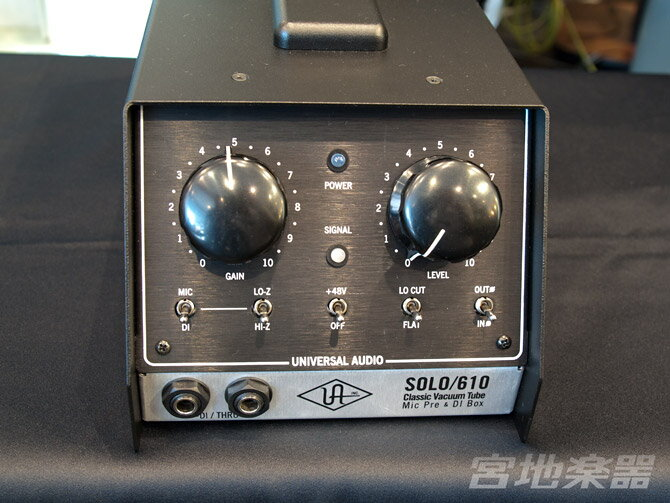 DAW・DTM・レコーダー, その他 Universal AudioSolo 610 Classic Tube 1-Channel Mic PreDI