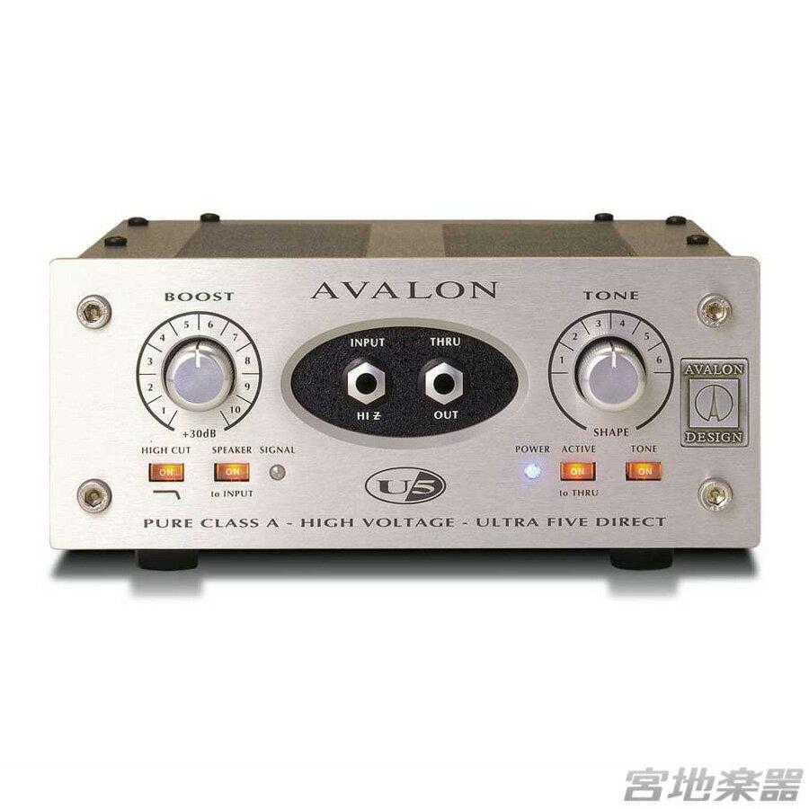 DAW・DTM・レコーダー, ダイレクトボックス AVALON DESIGNU5
