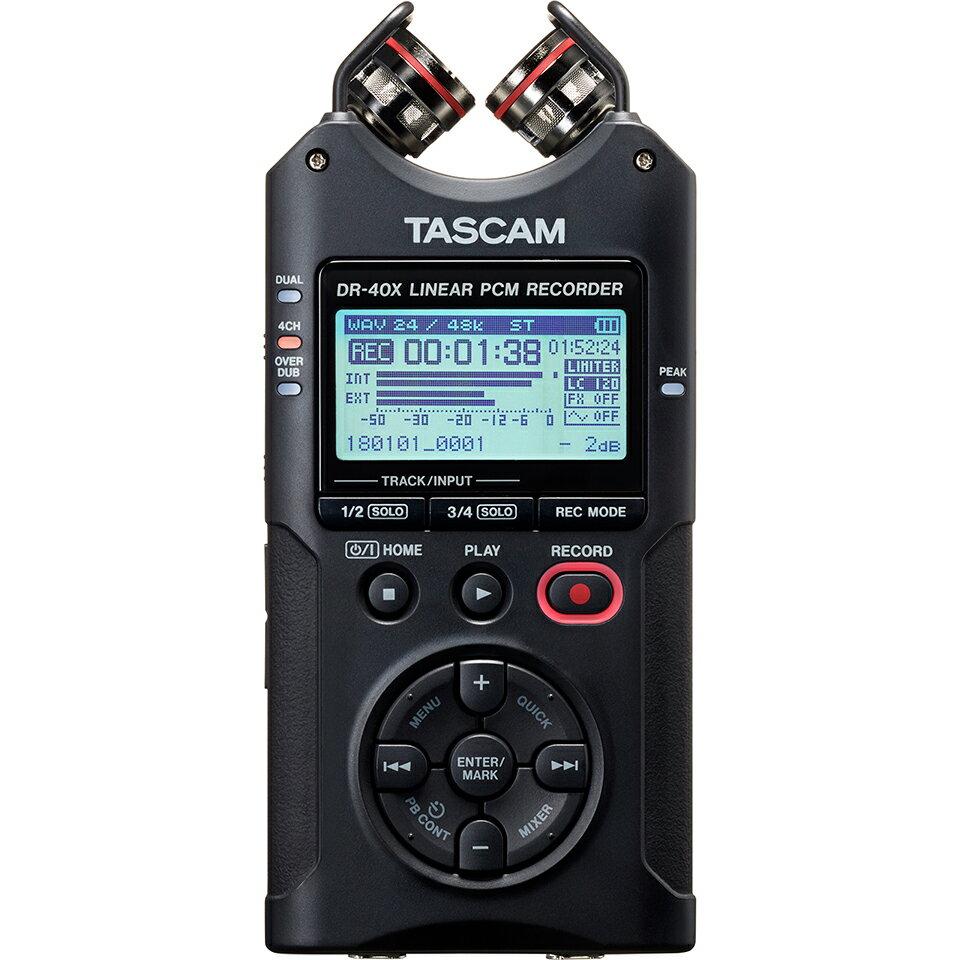 DAW・DTM・レコーダー, ポータブルレコーダー・フィールドレコーダー TASCAMDR-40X