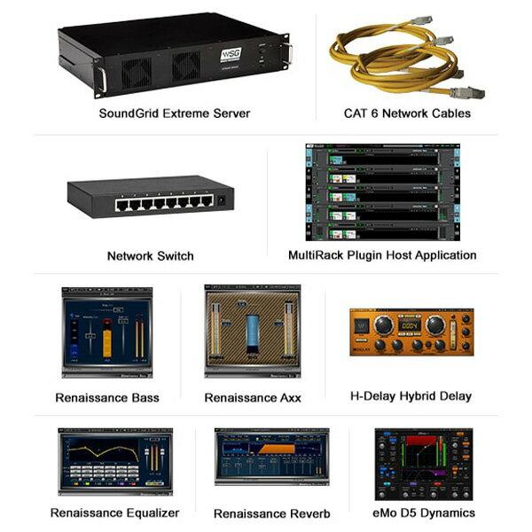 DAW・DTM・レコーダー, ダイレクトボックス Waves LiveExtreme Server Combo