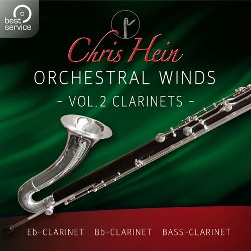 DAW・DTM・レコーダー, 音源 BEST SERVICECHRIS HEIN WINDS 2.0 VOL2 CLARINETS