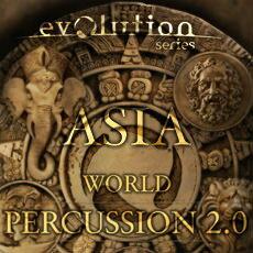 DAW・DTM・レコーダー, 音源 EVOLUTION SERIESWORLD PERCUSSION 2.0 ASIA