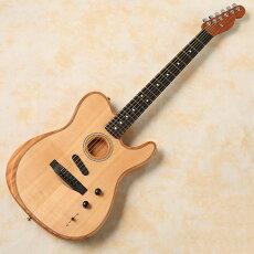 Fender/AmericanAcoustasonicTelecaster(Natural)【ご予約受付中】