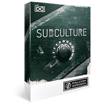 UVI/SubCulture for Falcon【オンライン納品】