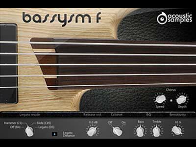 DAW・DTM・レコーダー, 音源 acoustic samplesBassysm-FFOMIS
