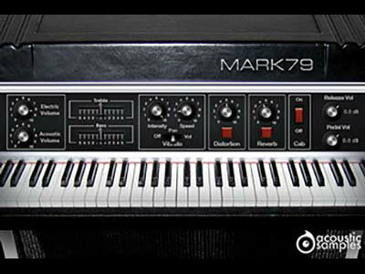 DAW・DTM・レコーダー, 音源 acoustic samplesMark79FOMIS