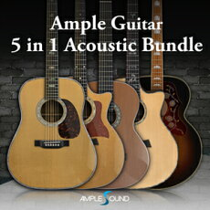 AMPLESOUND/AMPLEGUITAR4IN1ACOUSTICBUNDLE【期間限定キャンペーン】【オンライン納品】【在庫あり】