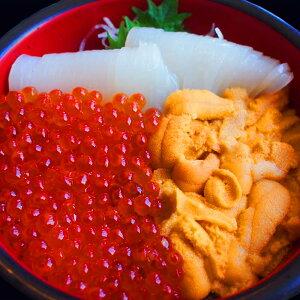 お取り寄せグルメ海鮮丼 約5杯分セット ウニ200g (蒸しウニ、生ウニ 選べます) イカソーメン200g イクラ100g送料無料 お祝い 内祝い お返し良い訳あり お土産
