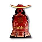 【送料無料】「ボトルウェア折り紙 ORIGAMI SAMURAI 赤」甲冑 折り紙侍 オリガミサムライ 武士 ボトルカバー インテリア 日本のお土産 外国人にも