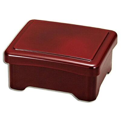 食洗機に対応。うな重、天重に最適!≪食洗機対応≫山中塗り うな重箱 角 溜塗り