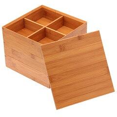 お正月、お花見、運動会など一年中活躍してくれる重箱。 ≪送料無料!≫天然竹製 7寸 三段重...