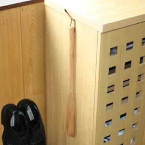 【靴べら】天然木製 ブナの木 靴べら 白木 45cm【P20Feb16】