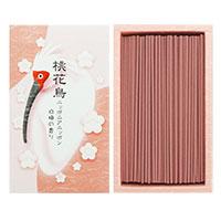 桃花鳥(トキ)ニッポニアニッポン白梅の香りパッケージ(外見)です