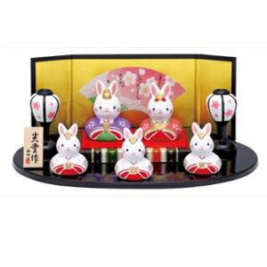 Nishikisai Rabbit Flat Ornamental Hina 2597 Hinamatsuri (Hina-Puppen, Hina-Puppen, Hina-Puppen, Hina-Puppen) (Yakushi-Ofen, Chugai Toen) [In Geschäften erhältlich] 2020
