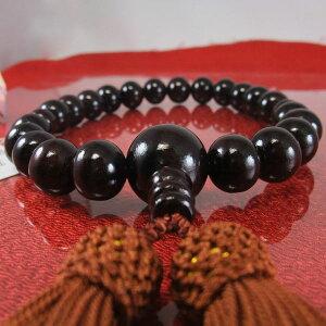 高級感漂う黒檀数珠です