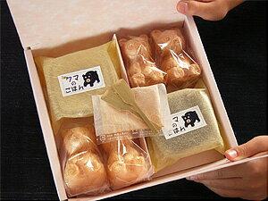 わいわい楽しく作る。【送料無料】北海道 クマの形をした最中セット 印象に残るプチギフトに...