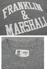 フランクリンと言えば、コレ♪何枚有っても困らない定番アーチロゴ長袖Tシャツの最新作★FRANKLIN&MARSHALL,フランクリンアンドマーシャル,LONG-SLEEVEDT-SHIRT,アーチロゴプリント長袖Tシャツ,カットソー,SKU#TSMF249XNW18
