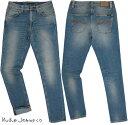 Nudie Jeans co/ヌーディージーンズ LEAN DEAN/リーンディーン NATURAL FADE(ナチュラルフェード) ストレッチ・スキニーデニムパンツ