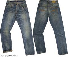 ストレートシルエットを基調に脚のラインを長〜く美しく魅せる、大人系モデル★Nudie Jeans co ...