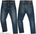 Nudie Jeans co/ヌーディージーンズ LEAN DEAN/リーンディーン DEEP DARK INDIGO(ディープダークインディゴ) 12 oz. comfort stretch d…